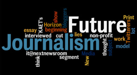 The future of journalism in the internet age