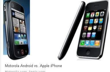 Google Android phone gaining market share